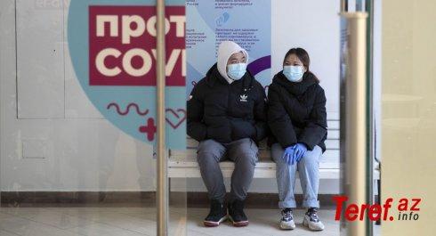 Rusiyada bir gündə dörd yüzdən çox adam koronavirusdan öldü