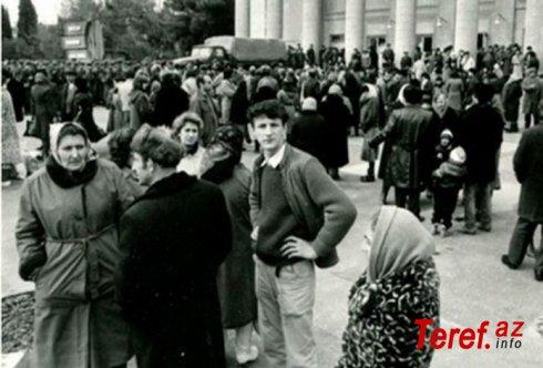 SSRİ DTK-nın törətdiyi Sumqayıt hadisələrindən 33 il keçir