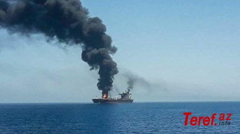 Oman körfəzində İsrail gəmisinə hücum olub -
