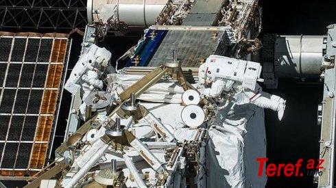 NASA astronavtları kosmos gəzintisinə çıxdılar - VİDEO