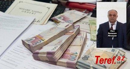 Ramazan Mirzəyevin 10 manatlıq şirkətlərinin vergi borcu 10 milyonlarladır...