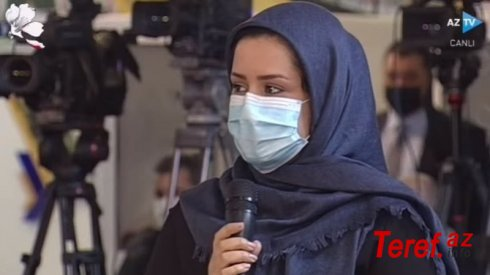 İrandan Prezidentin mətbuat konfransında sual verən jurnalistlə bağlı AÇIQLAMA