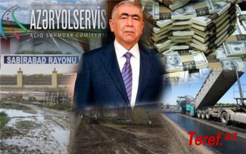 ''AZERYOLSERVİS''in rəhbəri Saleh Məmmədov AZƏRBAYCANI belə talayır: İstanbulda biznesmen, Bakıda yolçəkən (TƏHLİL)
