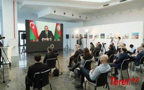 Moldova mediası Prezident İlham Əliyevin mətbuat konfransı barədə məlumatlar yayıb