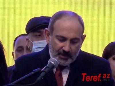 Paşinyan parlamentdə tribunaya çıxmaqdan imtina edib - VİDEO