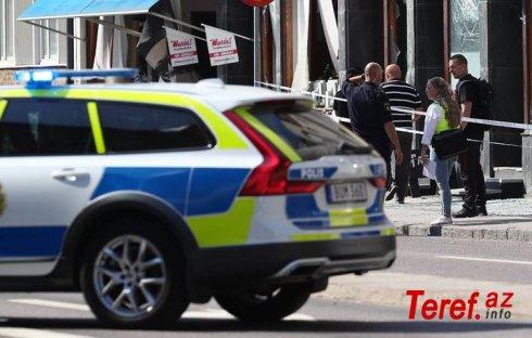 İsveçdə naməlum şəxsin silahlı hücum nəticəsində 8 nəfər yaralanıb