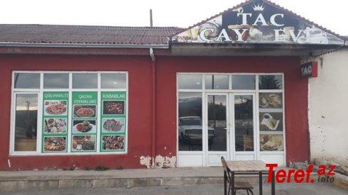 İsmayıllıda karantin qaydalarını pozan çay evi aşkarlandı