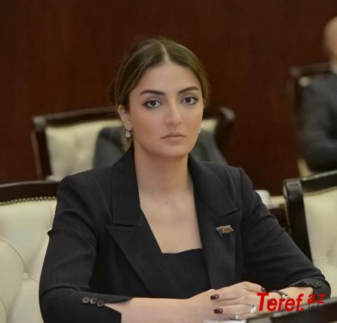 """Könül Nurullayevanın seçicilərlə """"çarşaflı"""" görüşü ...- Xanım deputatın Ermənistan dövlətinə """"qayğısı"""""""