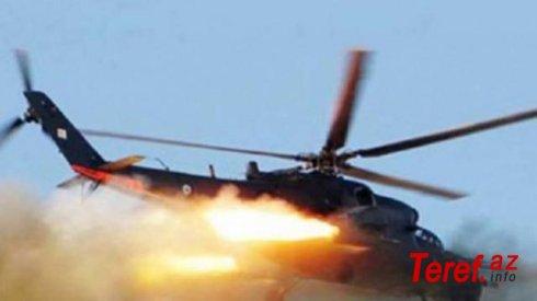 Fransada helikopter qəzası: