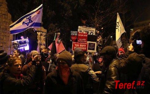 İsraildə Netanyahuya qarşı etirazlar