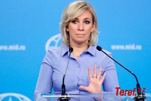 """Mariya Zaxarova: """"Evin başçısı kişidir"""""""