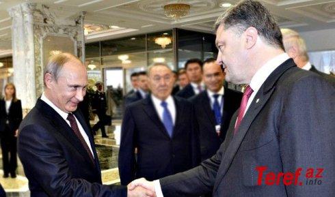 """Poroşenko da Putinin """"xaç atası"""" kimidir - Mendel"""