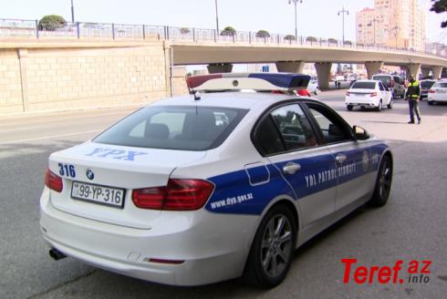 """Yol polisi """"20 Yanvar""""da parklinq edən sürücülərə qarşı - REYD KEÇİRİB"""