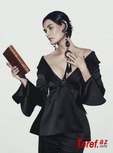 Demi Mur qalmaqallı çıxışını fotosessiya ilə təkrarladı - FOTO