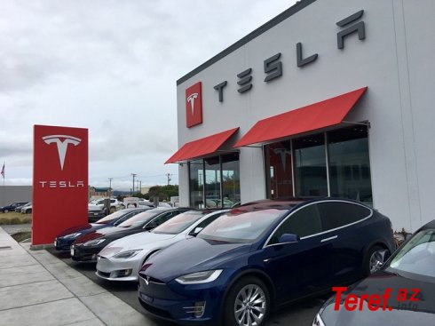 """""""Tesla""""nın gəliri 10,21 milyard dollar olacaq"""
