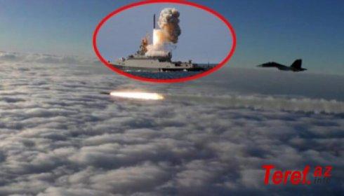 SON DƏQİQƏ: Rusiya hərbi gəmiləri bombardmana başladı -