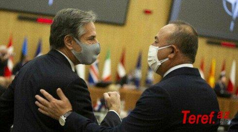 Çavuşoğlu ilə ABŞ-ın Dövlət katibi arasında telefon danışığı olub