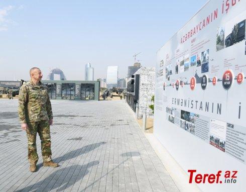 Hərbi Qənimətlər Parkını ziyarət edən hər kəs Azərbaycan Ordusunun qüdrətinin şahidi olacaqdır