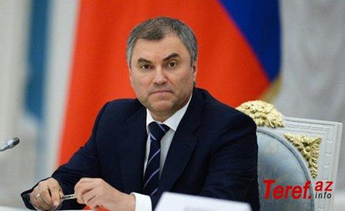 ABŞ öz dağıtdığını özü də quracaq - Volodin