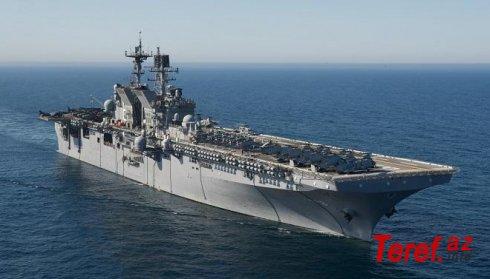 Qara dənizə gəlməli olan ABŞ gəmiləri limandan ayrıldı
