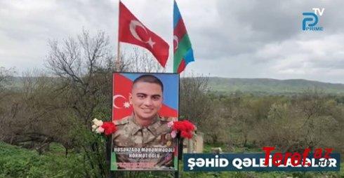 Şəhid qəlbi lalələr - Aygün Muradxanlının Qarabağdan reportajı... VİDEO