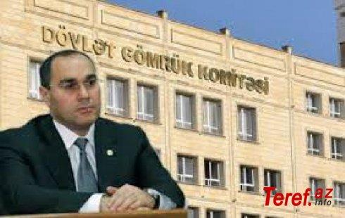 """Dövlət Gömrük Komitəsinin sədrinin qohumu rüşvəti """"meşok""""da tərəziylə çəkib alır? - İDDİA"""