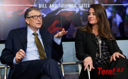 Bill Qeyts 27 illik nikahdan sonra arvadından ayrılır