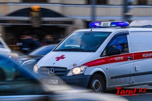 Moskvada məktəbdə oyuncağın partlaması nəticəsində iki uşaq xəstəxanalıq oldu