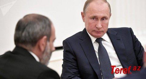 Putinlə Paşinyan danışdı:
