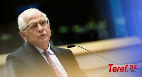 Cozep Borrell: Aİ Azərbaycan-Ermənistan sərhədindəki vəziyyəti yaxından izləyir