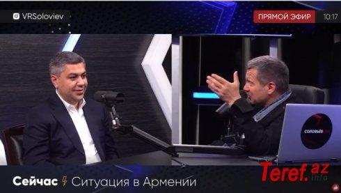 Solovyov Vanesyanl ələ saldı: Krım sizindir, yoxsa bizim?-Video