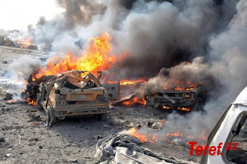Suriyada zirehli avtomobilin partlaması nəticəsində Rusiya hərbçisi ölüb