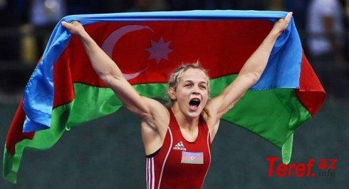 Mariya Stadnik qızıl MEDAL QAZANDI