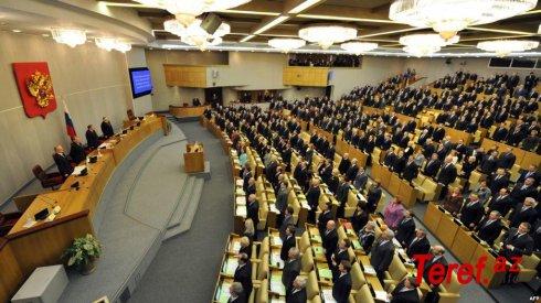 Duma Ukrayna və Moldovaya xəbərdarlıq etdi