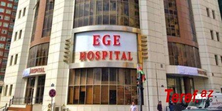 Yenə EGE Hospital: 8 iznsiz əməliyyat, klebsiella mikrobu, 80 min ziyan, koma… - GİLEY