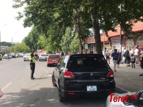 İsmayıllıda parklanma qaydalarını pozan sürücülər məsuliyyətə cəlb olunub