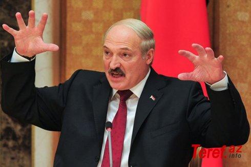 """Lukaşenkodan əhaliyə """"silahlanın"""" çağırışı:"""