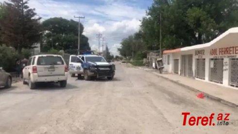 ABŞ-Meksika sərhədində atışma: 15 ölü, 3 yaralı