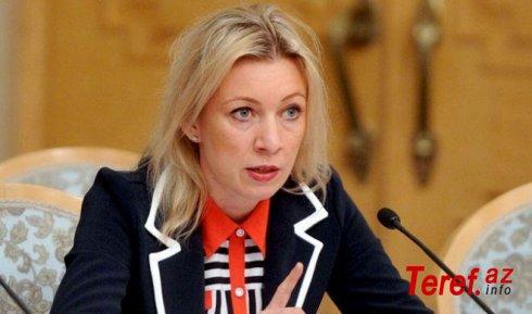 ABŞ Ukrayna ilə eşqbazlıq edir - Zaxarova
