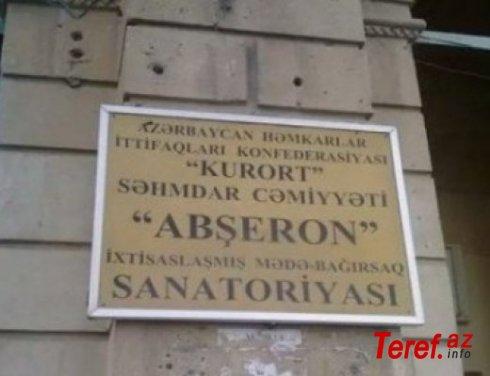 Mərdəkanda Abşeron sanotoriyası rüşvət yuvasıdır... - ŞİKAYƏT