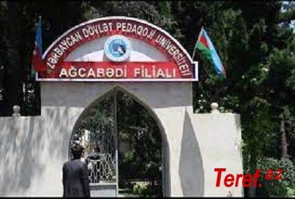 APU-nun Ağcabədi filialında qalmaqal -