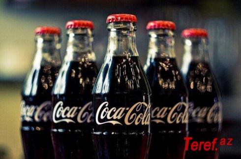 """""""Coca-Cola""""nın xalis mənfəəti 48% artıb"""