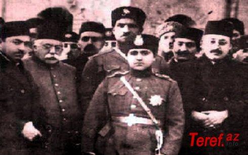 Öncə İran Sovet Sosialist Respublikası, sonra isə Azərbaycan-türk Qacarların süqutu...