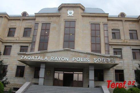 """Zaqatalada polis """"patı""""əməliyyatı keçirib"""
