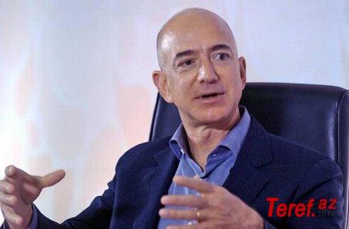 Cef Bezos insanın Aya enməsi proqramında iştirak üçün NASA-ya 2 milyard dollar təklif edib