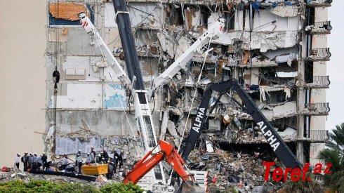 ABŞ-da evin çökməsi nəticəsində ölənlərin sayı 98 nəfər təşkil edib