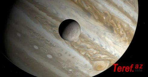Yupiterin peykində su aşkarlandı