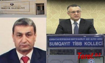 """Sumqayıt Tibb Kollecinin direktoru Rəfael Eyvazovun """"çoxşaxəli biznesi""""-"""