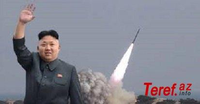 Dünyanı həyacanlandıran hərəkət! Şimali Koreya naməlum bir raket atdı!