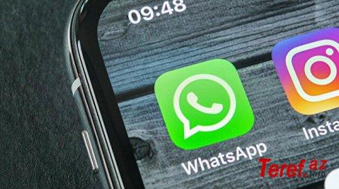"""""""Whatsapp"""" yenilikllərə davam edir: Ən çox bəyənilən bu funksiya olacaq"""